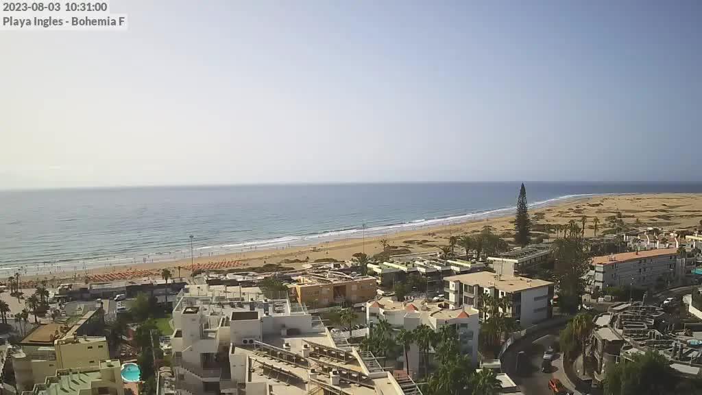Playa del Ingles (Gran Canaria) Sat. 10:35