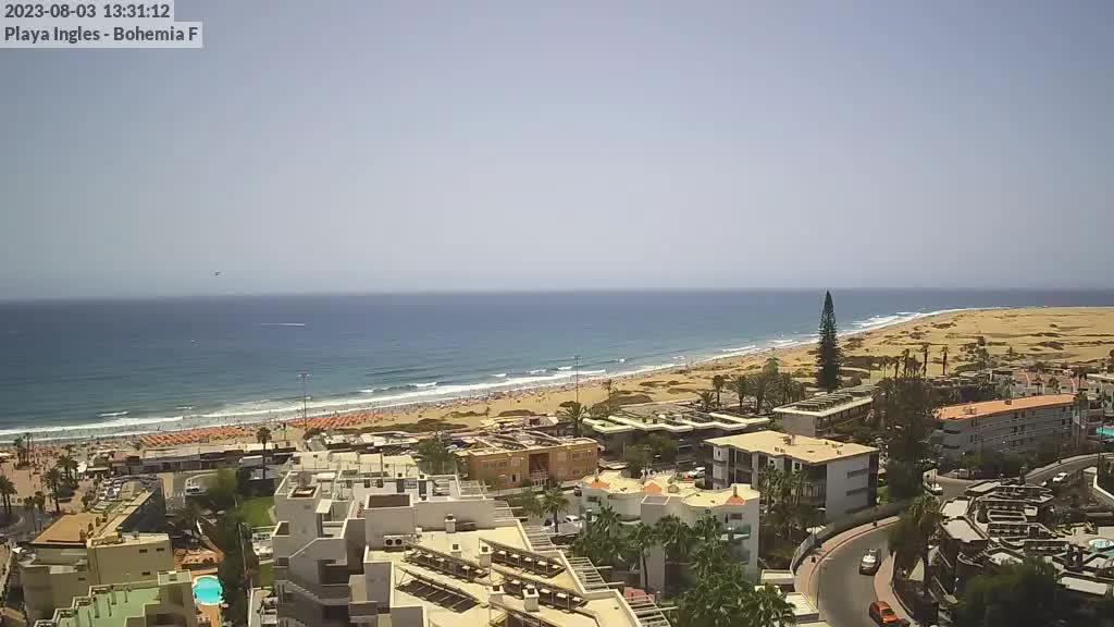 Playa del Ingles (Gran Canaria) Sat. 13:35