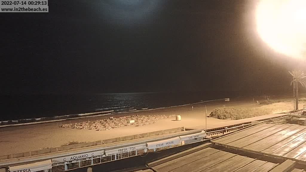 Playa del Ingles (Gran Canaria) Sat. 00:35