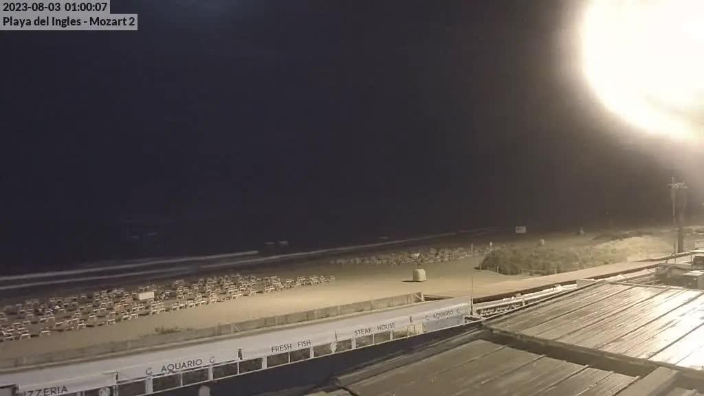 Playa del Ingles (Gran Canaria) Sat. 01:35