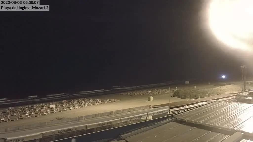 Playa del Ingles (Gran Canaria) Sat. 05:35