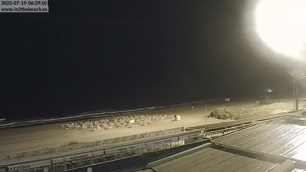Playa del Ingles (Gran Canaria) Sat. 06:35
