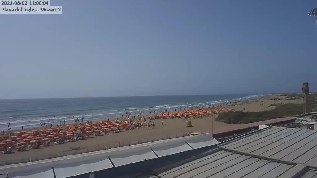 Playa del Ingles (Gran Canaria) Sat. 11:35