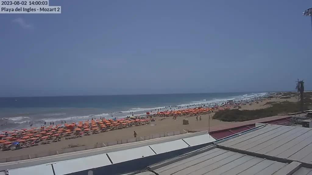 Playa del Ingles (Gran Canaria) Sat. 14:35