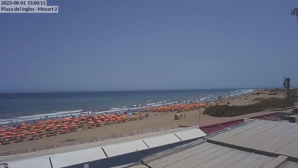 Playa del Ingles (Gran Canaria) Sat. 15:35