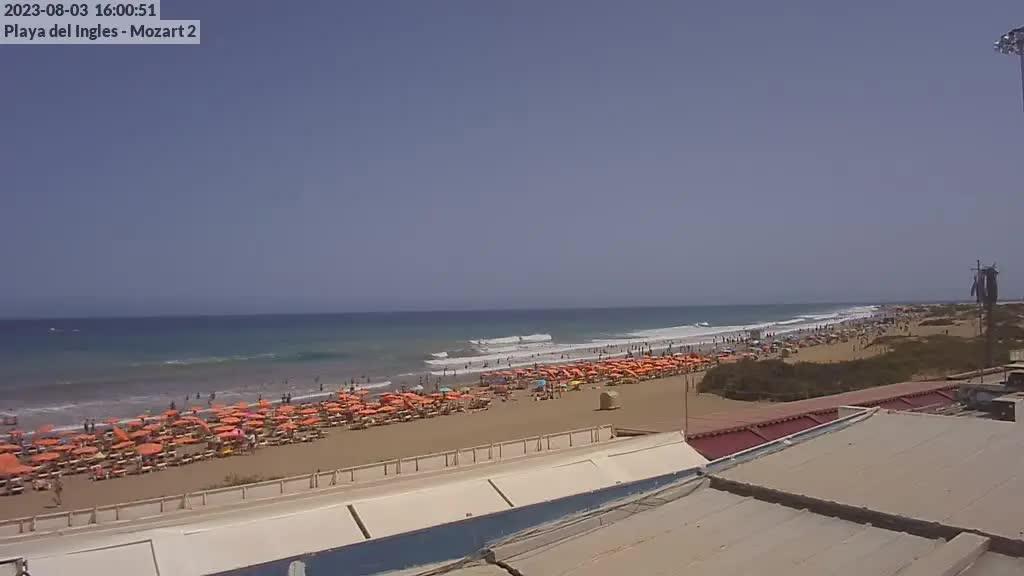 Playa del Ingles (Gran Canaria) Sat. 16:35