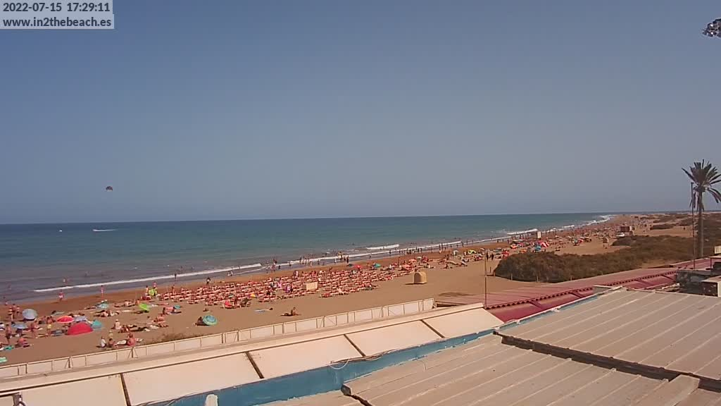 Playa del Ingles (Gran Canaria) Fri. 17:35