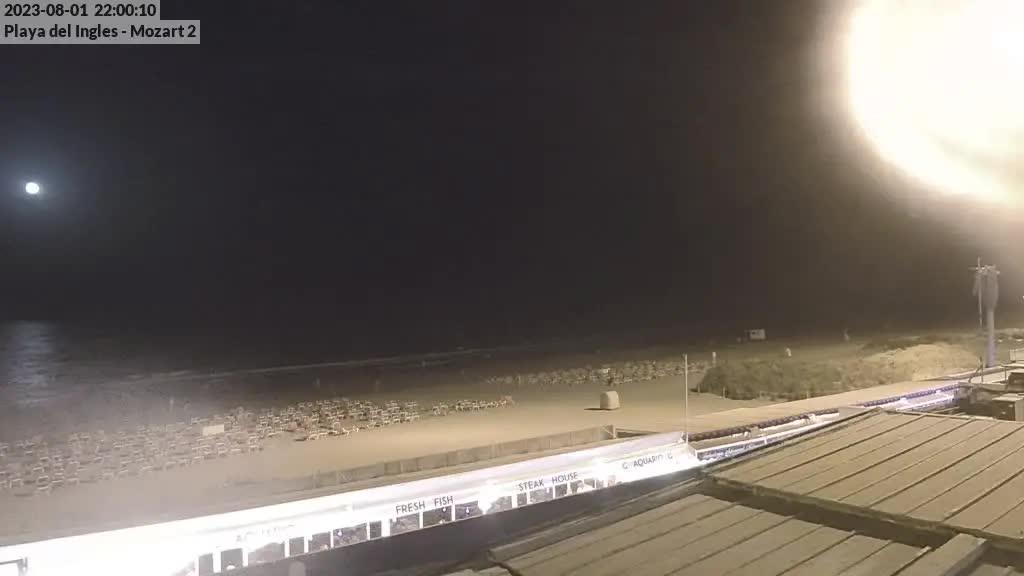 Playa del Ingles (Gran Canaria) Fri. 22:35