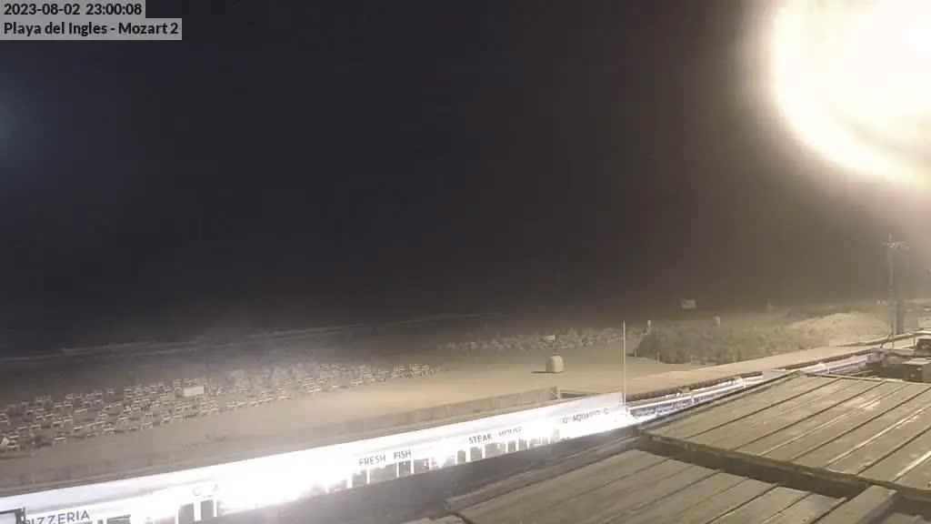 Playa del Ingles (Gran Canaria) Fri. 23:35