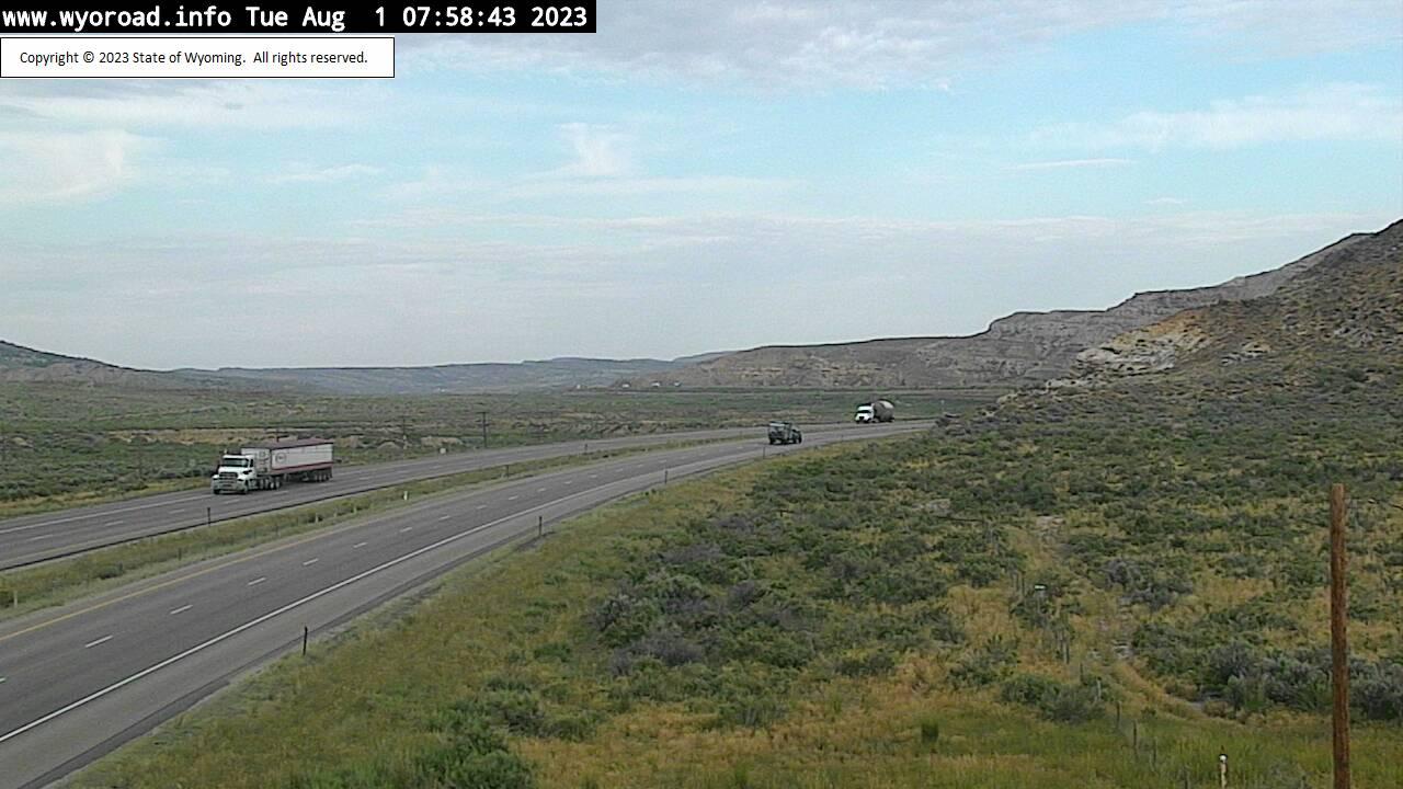 Point of Rocks, Wyoming Fri. 08:02