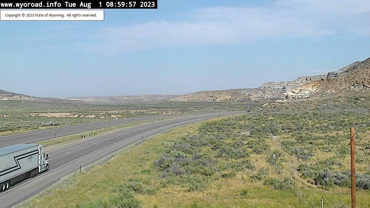 Point of Rocks, Wyoming Fri. 09:02