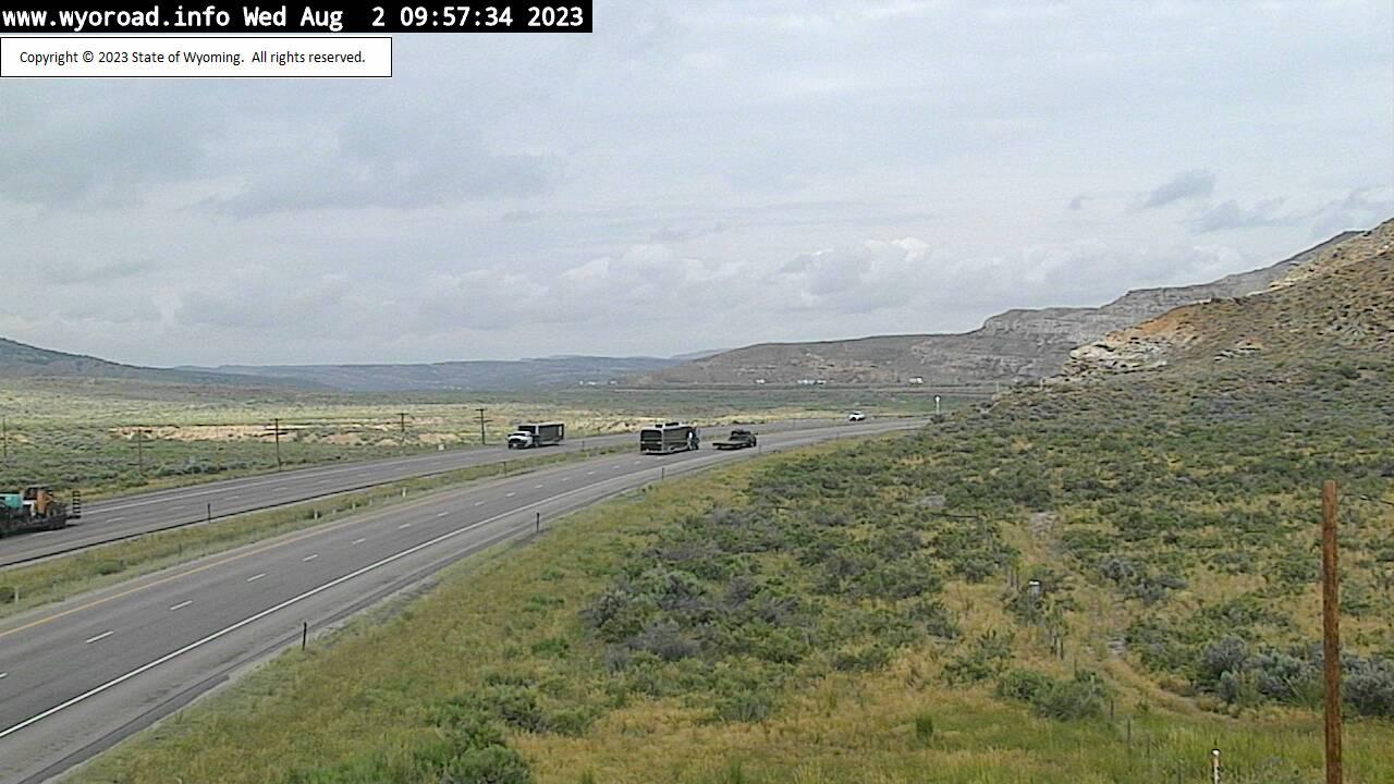 Point of Rocks, Wyoming Fri. 10:02