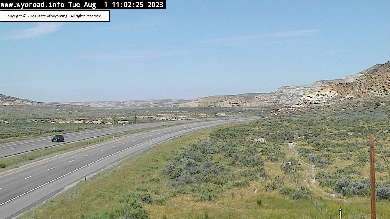 Point of Rocks, Wyoming Fri. 11:02