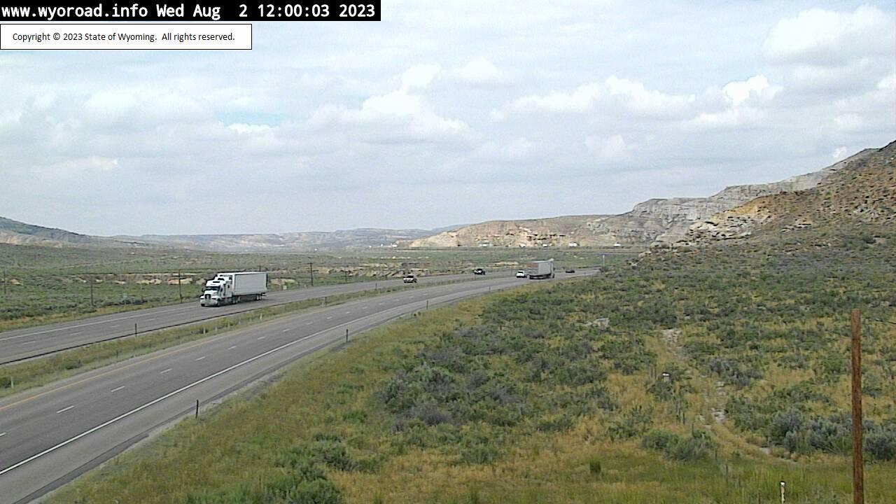Point of Rocks, Wyoming Fri. 12:02