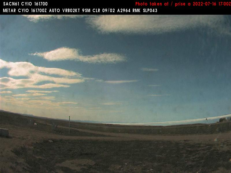 Pond Inlet Thu. 13:14