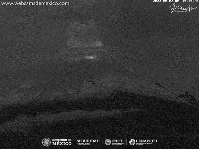 Popocatépetl Tue. 02:06