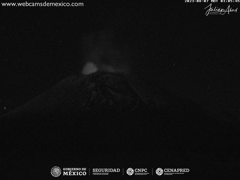 Popocatépetl Tue. 04:06
