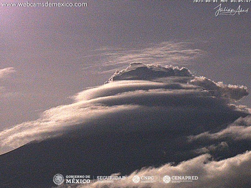 Popocatépetl Tue. 05:06