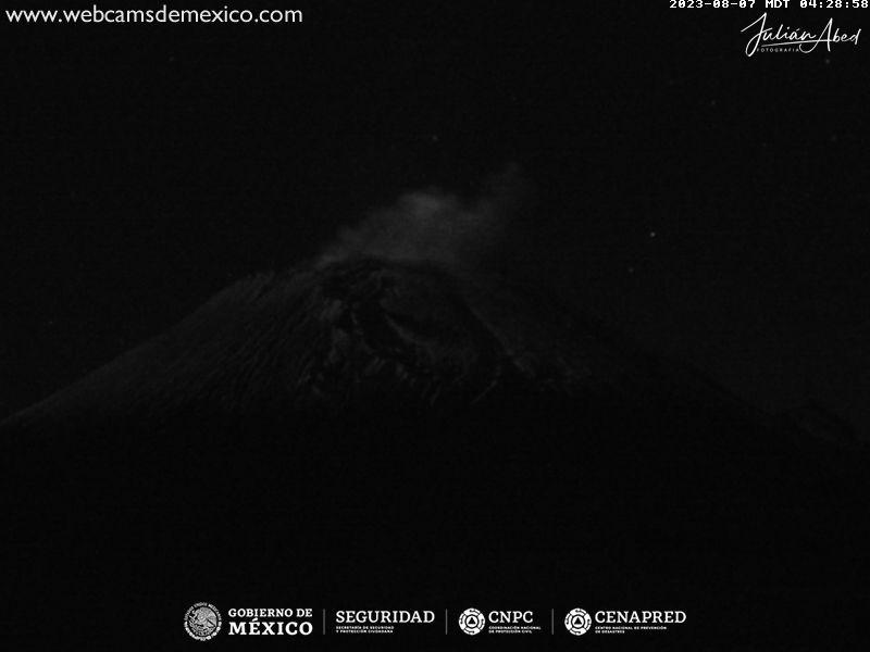 Popocatépetl Tue. 06:06