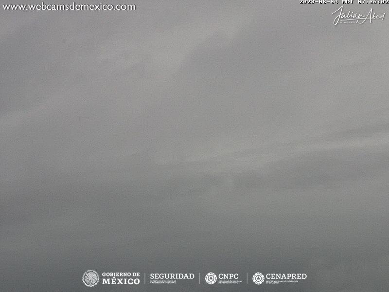 Popocatépetl Tue. 08:06