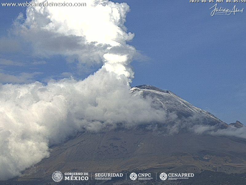 Popocatépetl Tue. 09:06