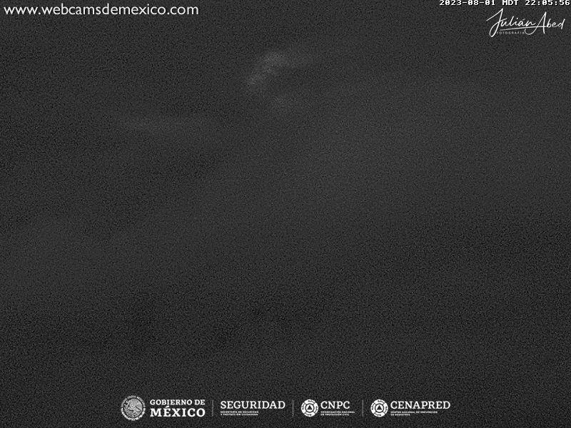 Popocatépetl Mon. 23:06