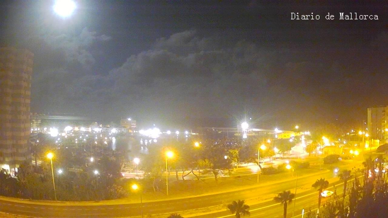 Portixol (Majorca) Sun. 00:23