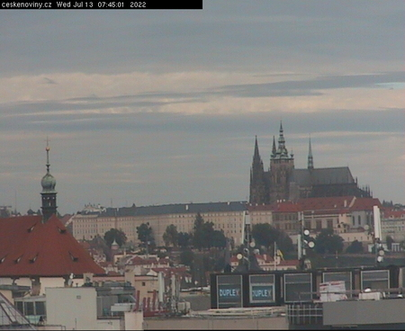 Prague Sun. 07:46