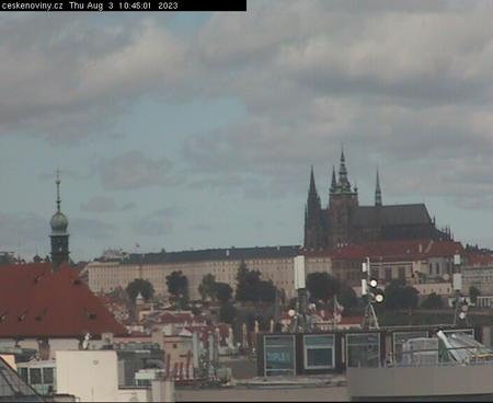 Prague Sun. 10:45