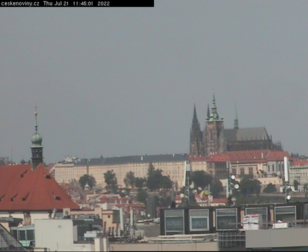 Prague Sun. 11:45
