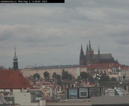 Prague Sun. 12:45