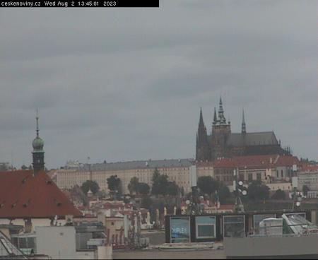 Prague Sun. 13:45