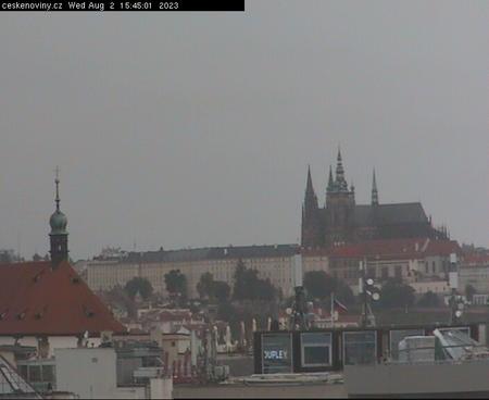 Prague Sun. 15:45