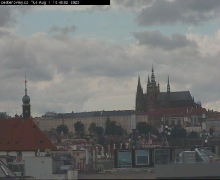 Prague Sun. 16:45
