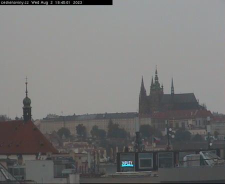 Prague Sun. 18:45