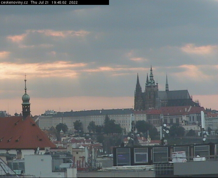Prague Sun. 19:45