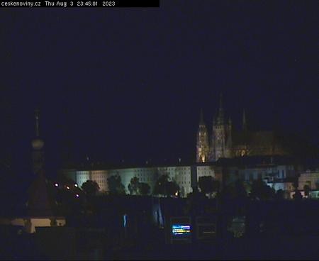 Prague Sun. 23:45