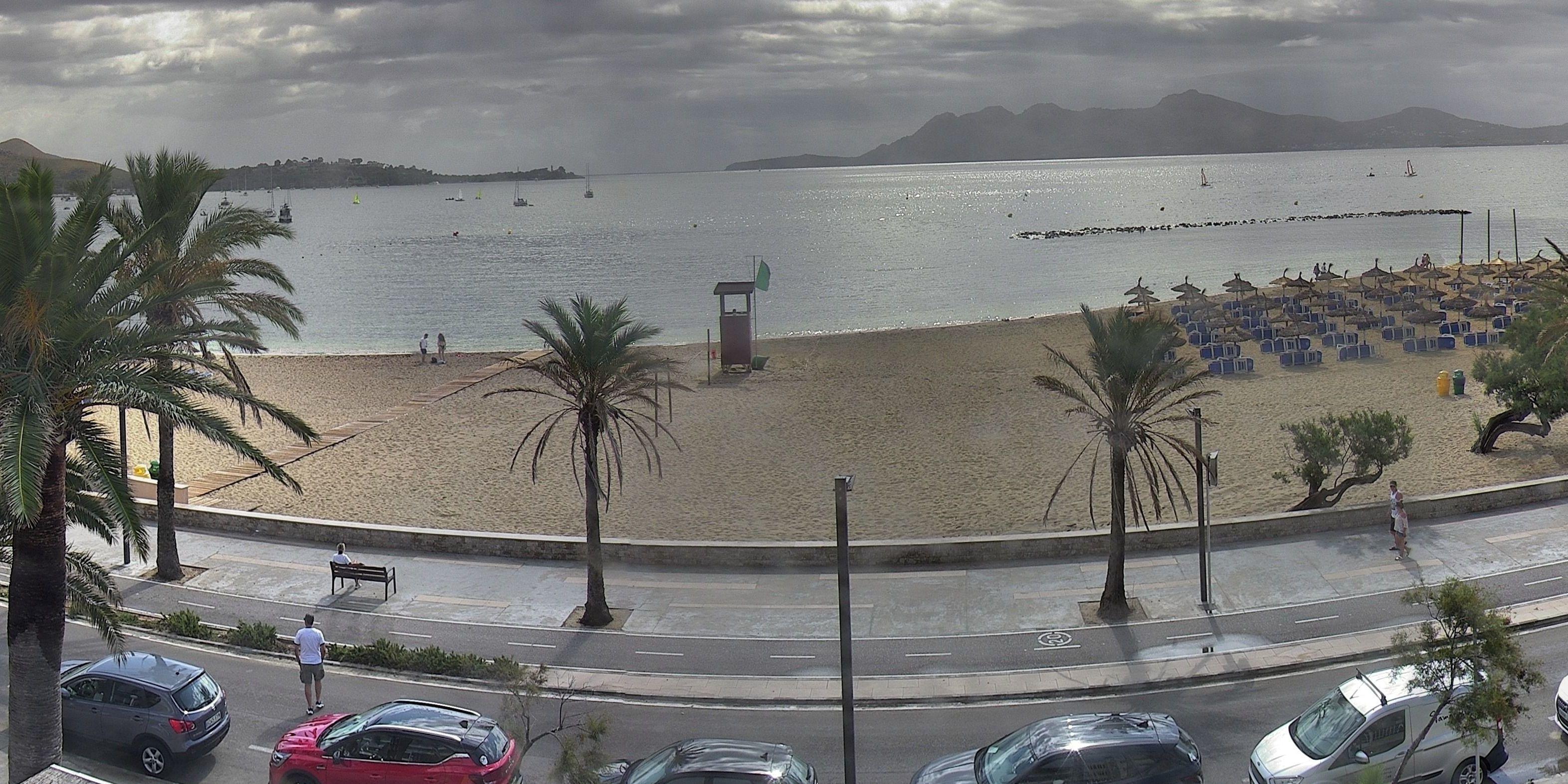 Puerto de Pollensa (Majorca) - Webcam Galore