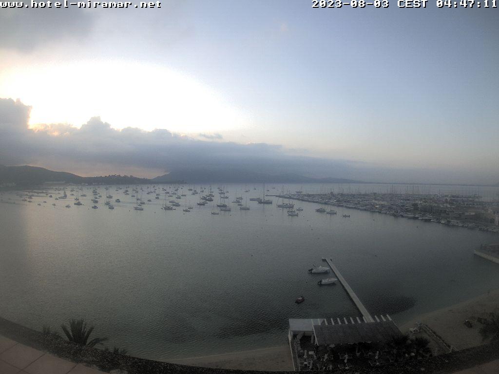 Puerto de Pollensa (Majorca) Tue. 07:28