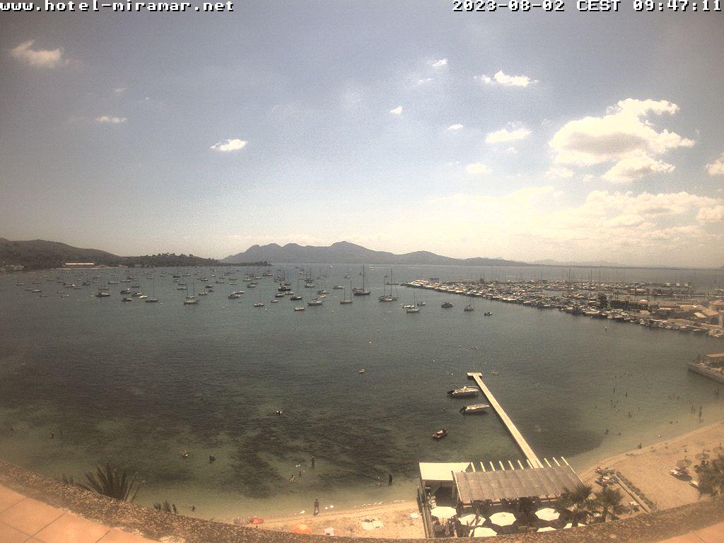 Puerto de Pollensa (Majorca) Tue. 12:28