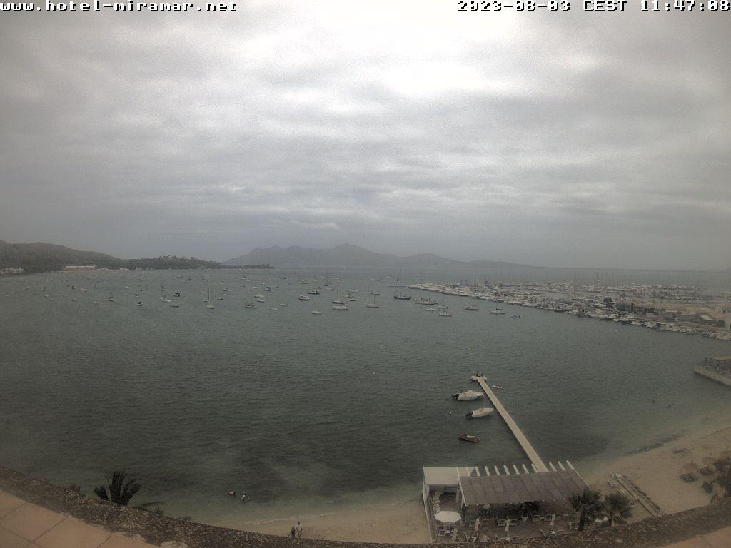 Webcam Puerto de Pollensa (Majorca): Badía di Pollença
