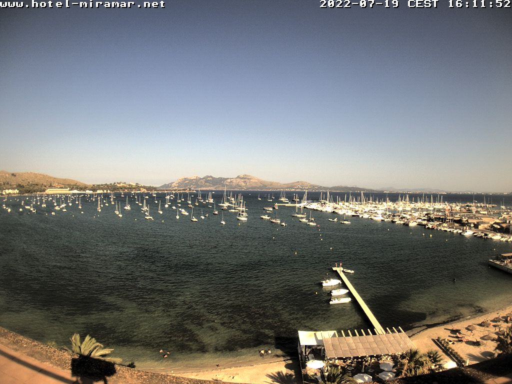 Puerto de Pollensa (Majorca) Tue. 18:28