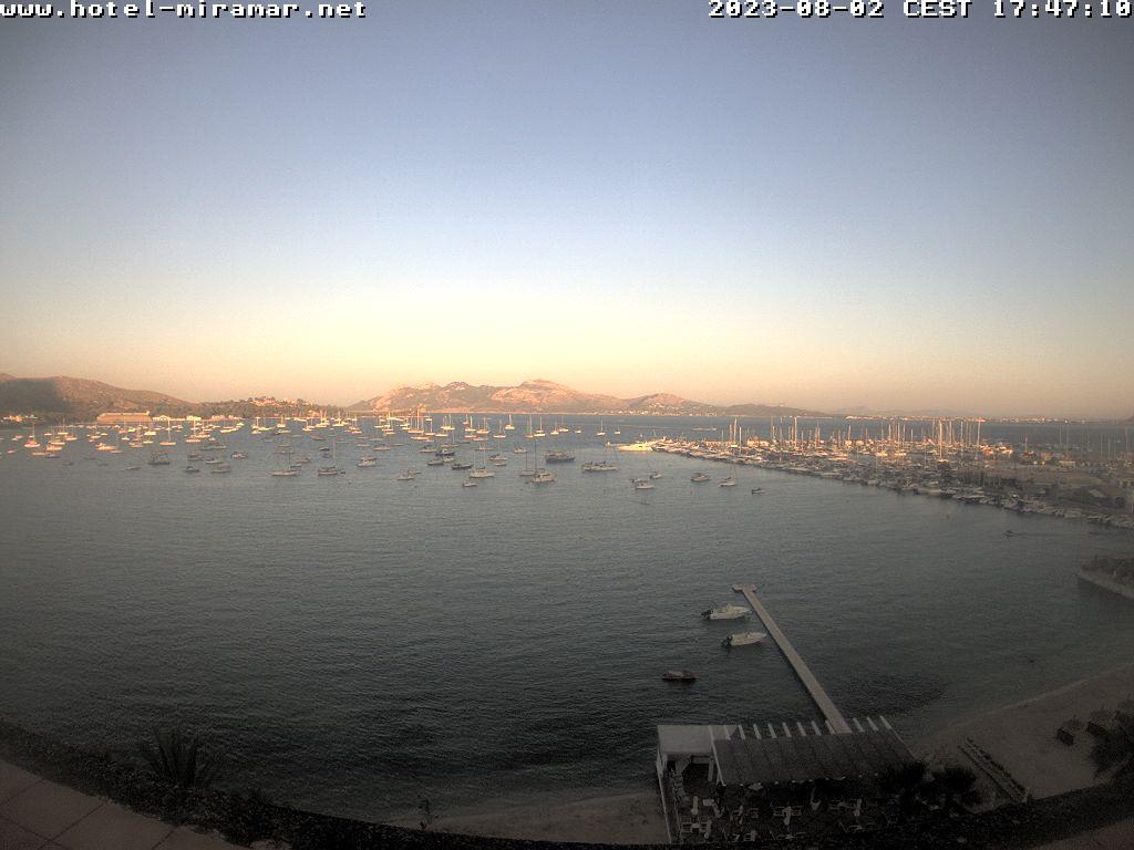 Puerto de Pollensa (Majorca) Tue. 20:28