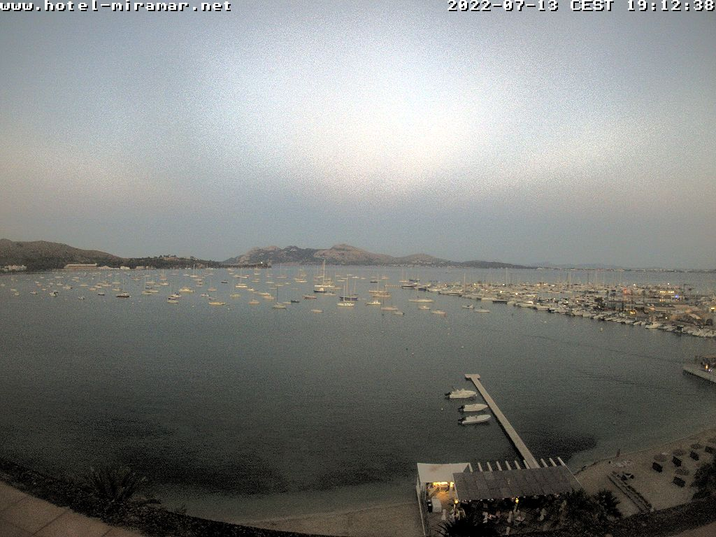 Puerto de Pollensa (Majorca) Tue. 21:28