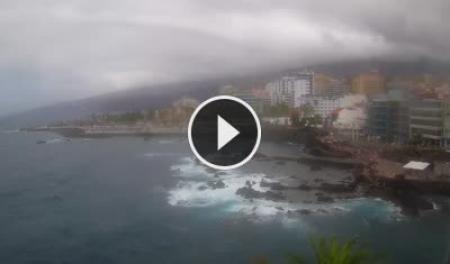 Webcam puerto de la cruz tenerife playa san telmo - Puerto de la cruz webcam ...