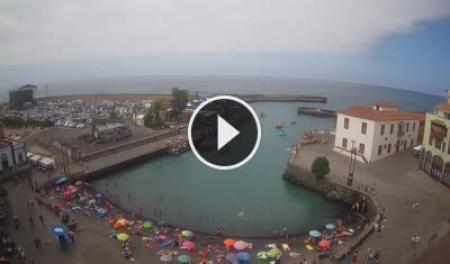 Live webcam puerto de la cruz teneriffa livestream hist rico muelle pesquero - Puerto de la cruz webcam ...