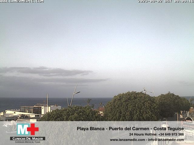Puerto del Carmen (Lanzarote) Fri. 08:09