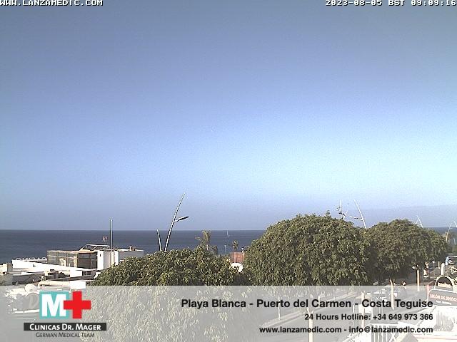 Puerto del Carmen (Lanzarote) Fri. 09:09