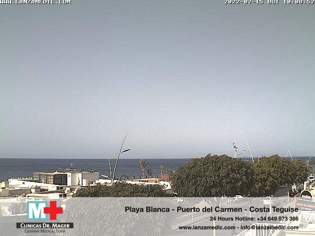 Puerto del Carmen (Lanzarote) Fri. 10:09