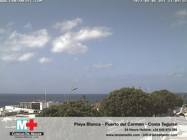 Puerto del Carmen (Lanzarote) Fri. 11:09
